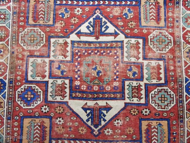 Antique West Anatolian Kozak Rug  Size.200x156cm
