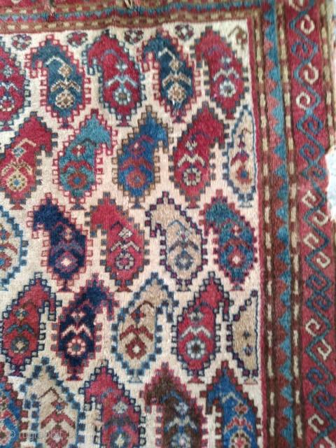 Antique Caucasian Rug  Size:160x80 cm