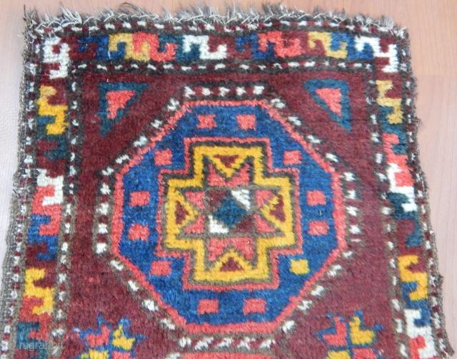 Antique Uzbek Yastık size.85x50cm