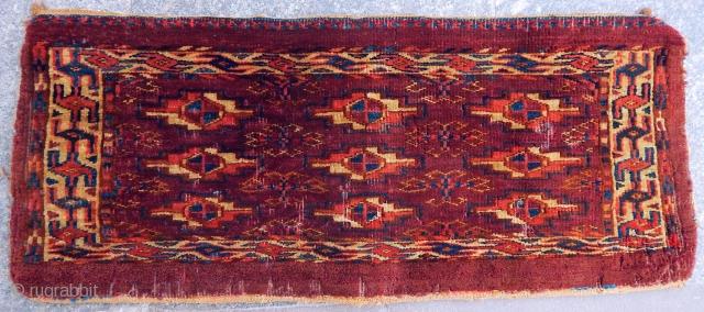 Antique Turkmen Yamut Rug  Torba
