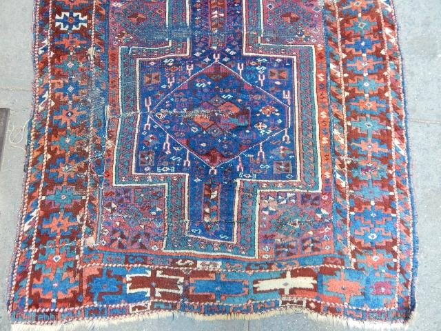 Antique Anatolian Cankırı Kurdısh Rug