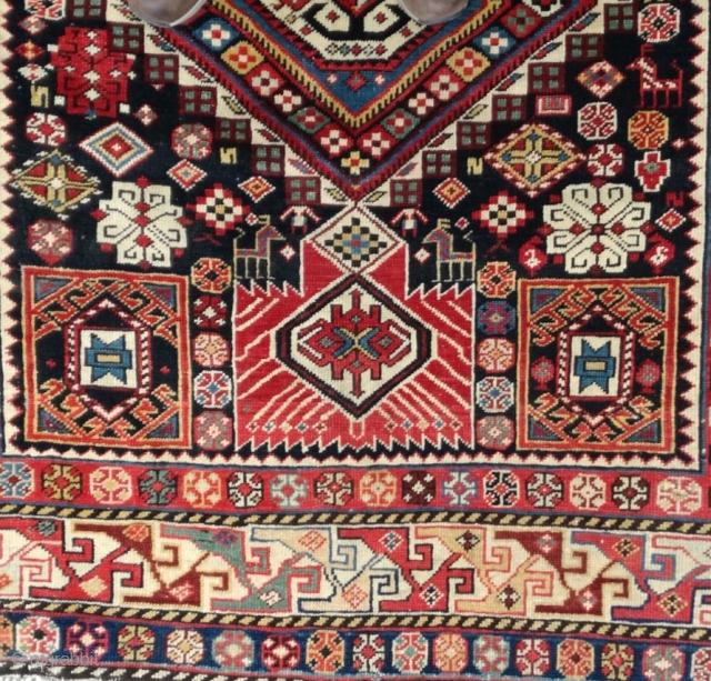 Antique Caucasian  Sahnazar Sirvan Rug