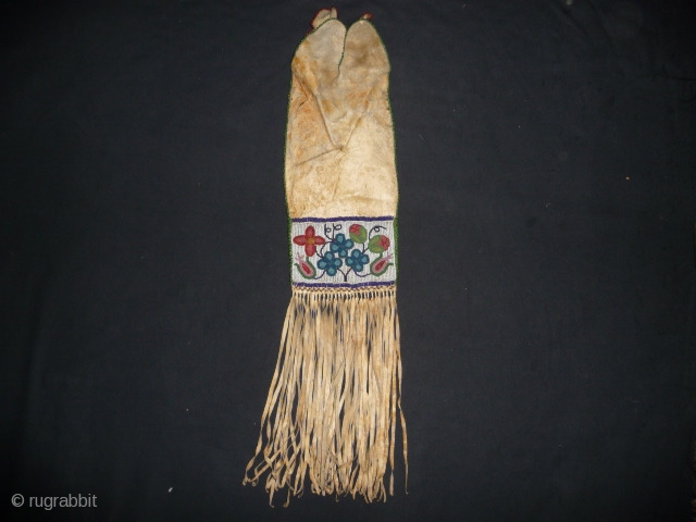 Cree tobacco pouch 19th cent. good condition from an English collection.