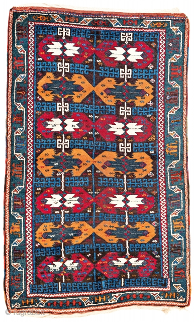 Lot 145, Kagizman, starting bid € 3000, Auction October 14 5pm, https://www.liveauctioneers.com/catalog/109605_fine-antique-oriental-rugs-viii/?count=all