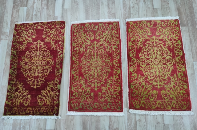 Central Anatolian Konya (Sille) Yastık, possibly woven by Anatolian Greek Artisans 1920s century Size:92x55cm / 36x22 inc