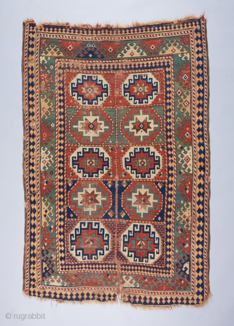 A lovely Memling Gol Kazak with quite good age. Condition issues as visible .