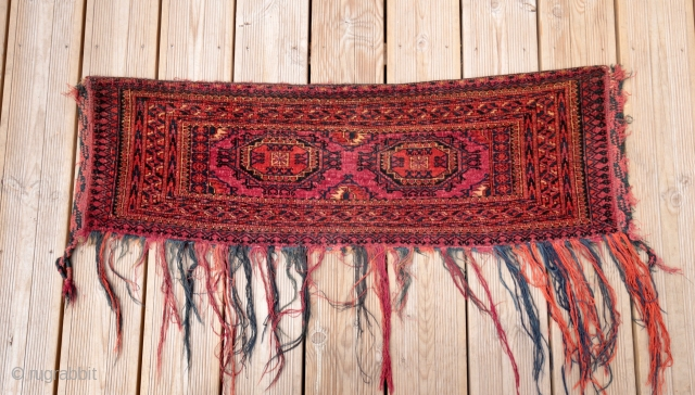 Nice Tekke with good li of wine color , good condition . End XIX century  Size 105/32 cm