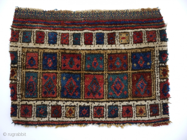 rare tribal bag face, Baluch  