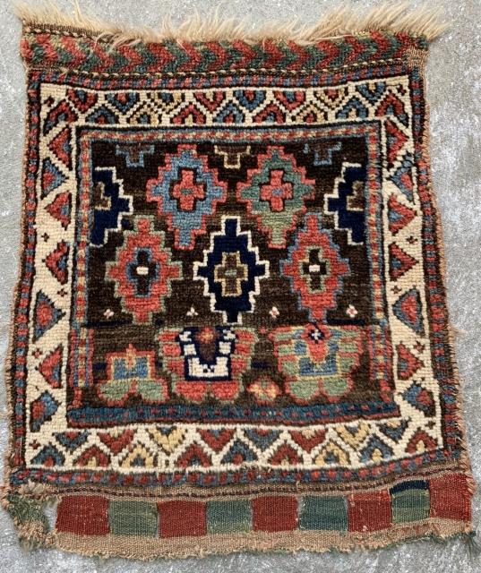 Antique Kurdish bagface. Very good condition.