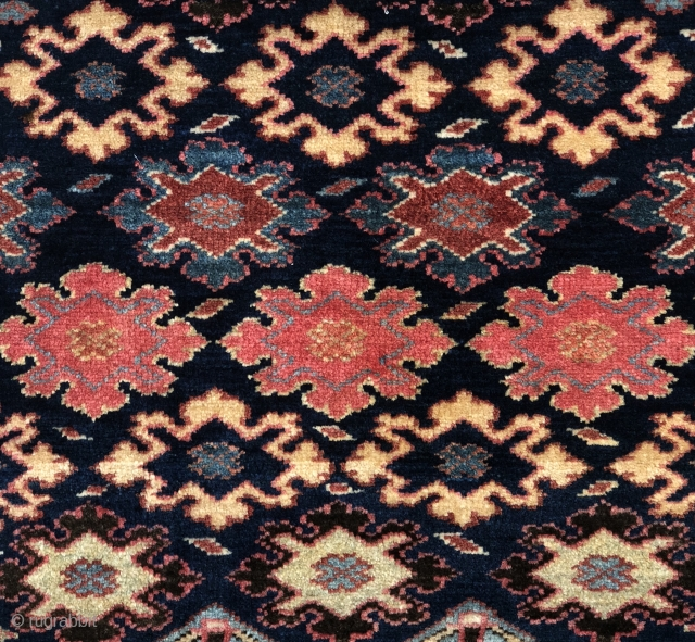 Superb, full pile NW Persian bagface with fabulous color and exceptional wool. Sold to a collector many years ago and now back on the market.