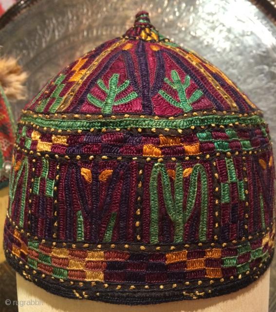 Turkmen hat