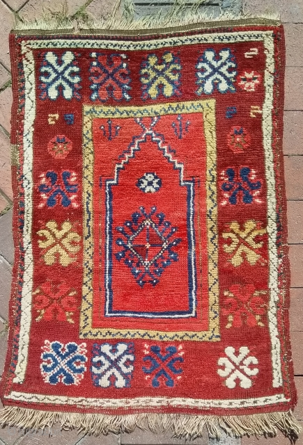 Small prayer rug.65x90cm.Ask for more details