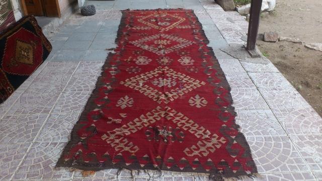 central anatolia kilim  size=370x110cm