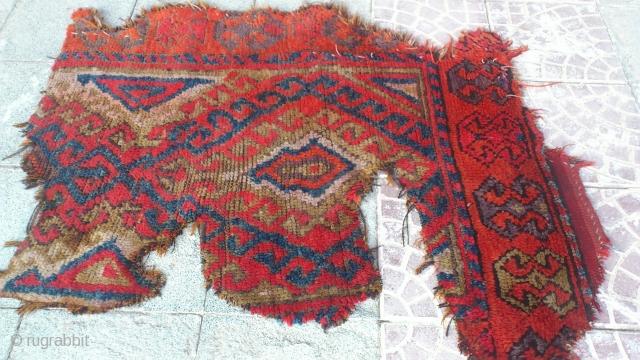 Anatolia cappadocia fragment rug Size=106*84 cm