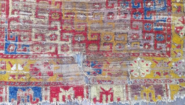 18th Anatolian Konya ladik rug size=185x116