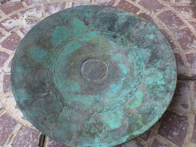 18thc ottoman copper plate freeshiping