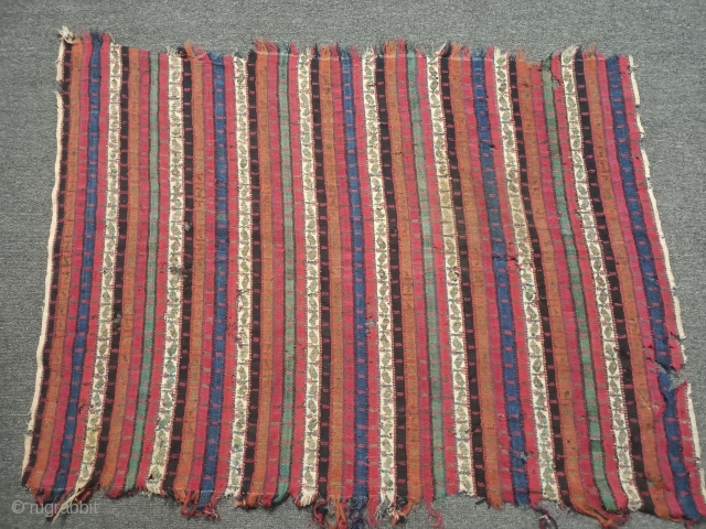 Very nice Anatolian sivas area şal completely root paint woven from very fine wool. Size=98x70 cm
