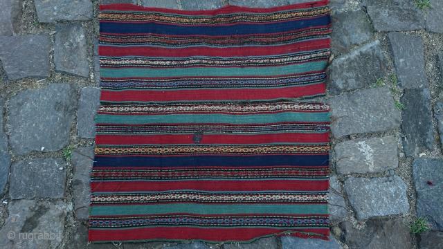 Antique sivas textile frakment size=48x50 cm