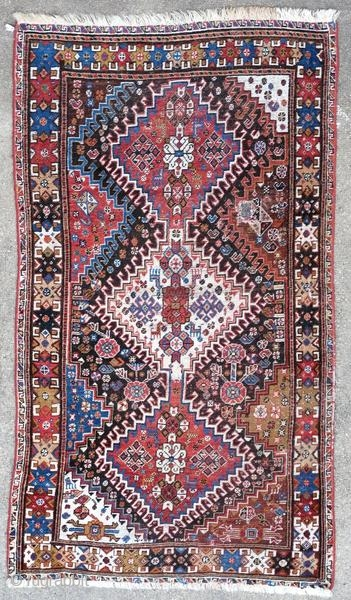 Ghashghai rug, Persia, around 1900.