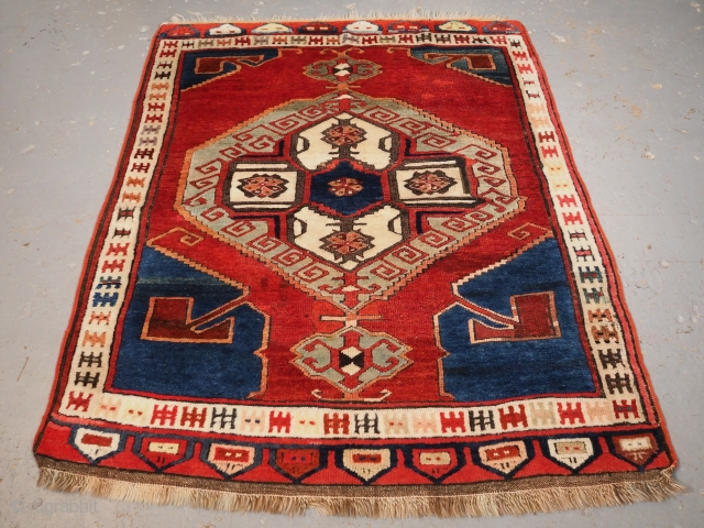 Karapinar rug, 19th century. 168 x 125cm. www.knightsantiques.co.uk