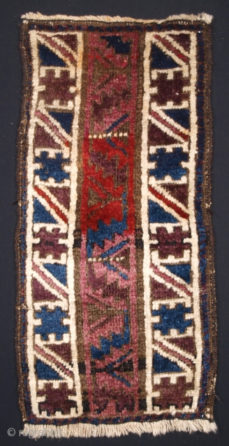 ***£195/$250*** Afghan Baluch animal trapping, size: 30 x 66cm. click the link www.knightsantiques.co.uk to view more items.