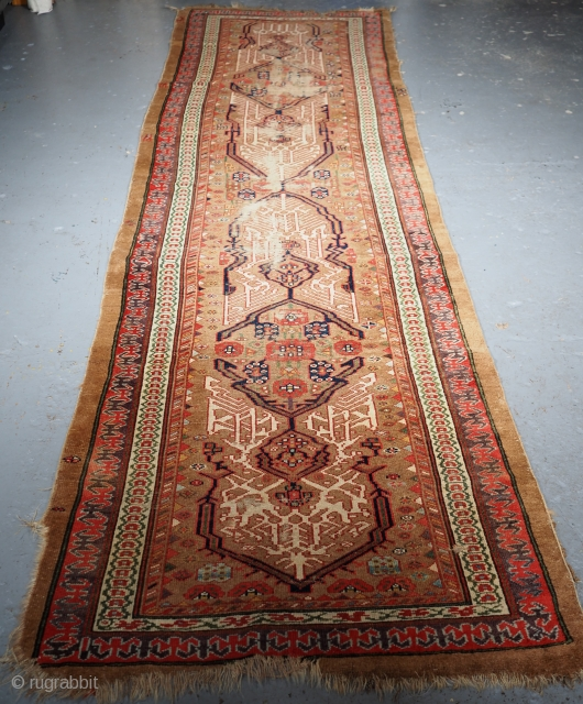 ***£295/$375*** Sarab runner size:363 x 106cm. Click the link www.knightsantiques.co.uk to view more items.