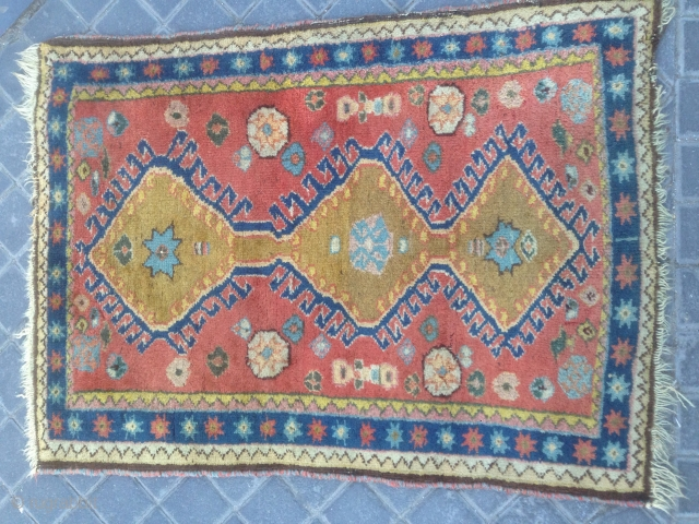 Small Persian ? Size:80x58-cm please ask