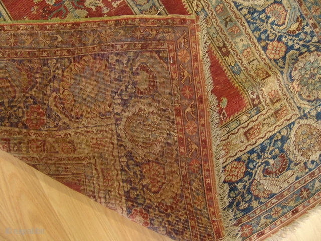 Anatolian Gordes Prayer Rug  Size 1,24 x 1,91 There are some old repairs on it but very nice colors and fine quality.