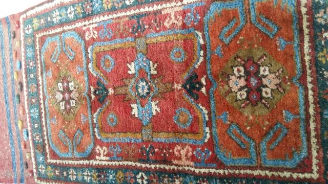 Anatolian dazkiri yastik rug 90×50cm