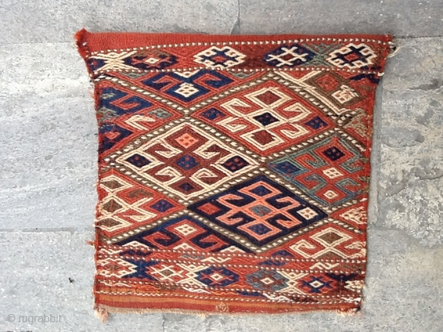 Coucasian bag face 