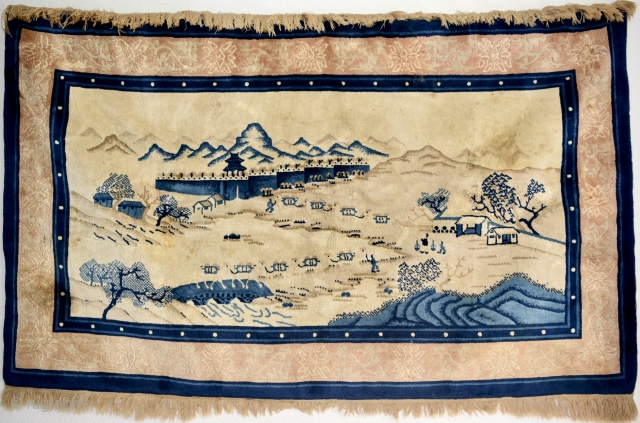 Pictorial Chinese Baotou. Size: 155cm x 93cm / 5′ 1.0236″x 3′ 0.6142″