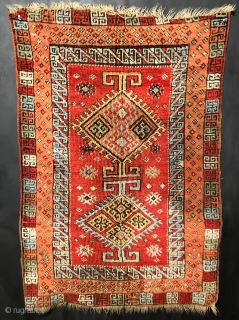 19th century Sivas yastik