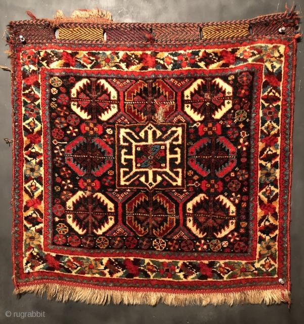 Mind 19th Century Khamseh bag