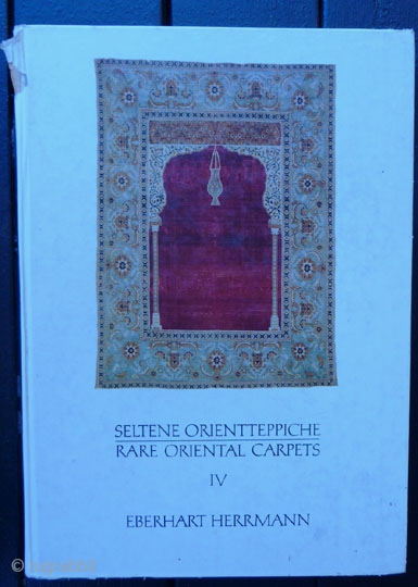 Eberhart Herrmann Book -- Rare Oriental Rug catalog Vol. IV