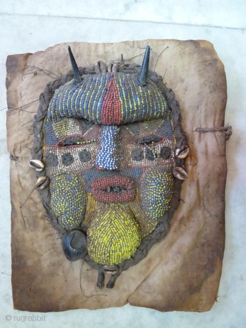 Tapya Mask. Congo/Tanzanya. 30 x 25 Cm