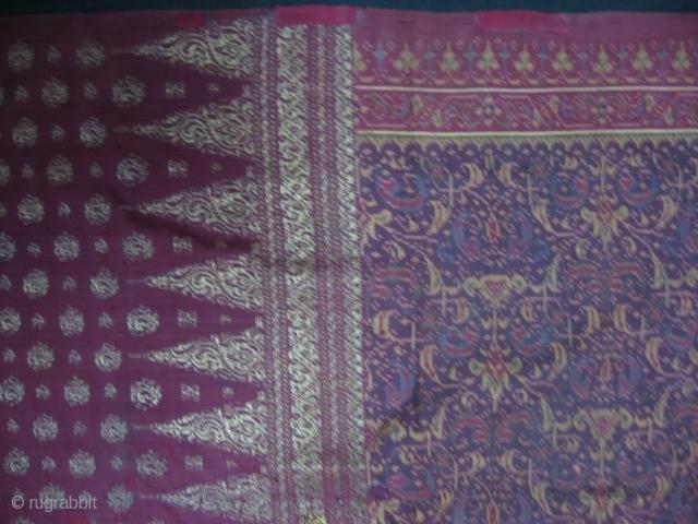 Antique Indonesian, Palembang Kain Limar. For more:http://indonesia-textile.blogspot.com
