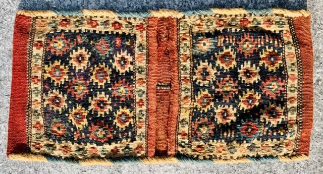 Shahsevan,small khorjin 1880 circa •••size 46x25cm