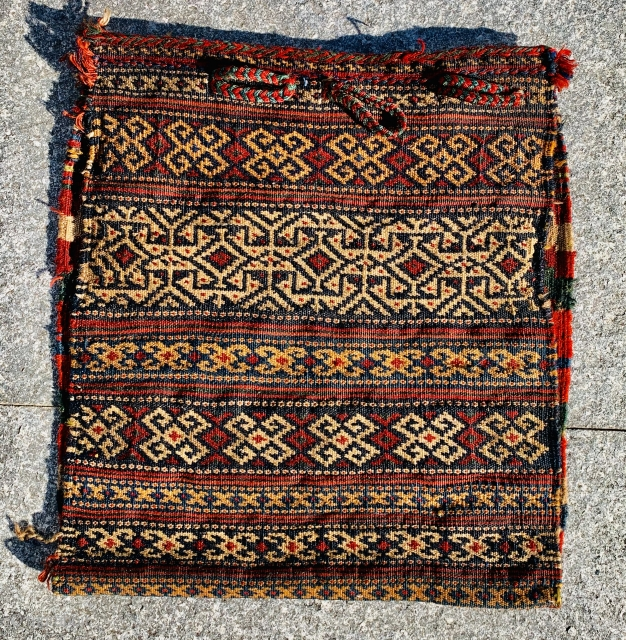 Afshar bag all good colors and very good condition-size 52x50cm