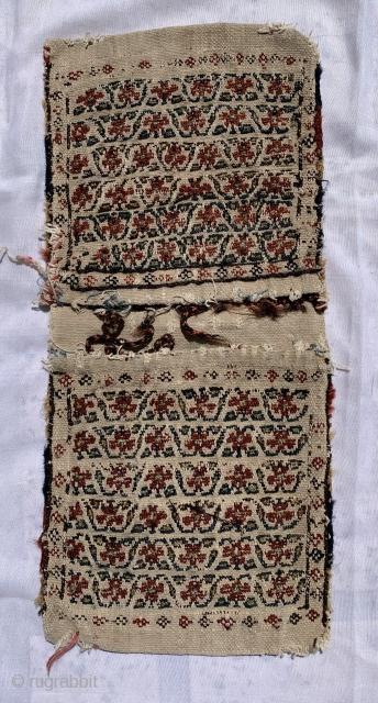 Small Shahsevan Khorjin,1870 circa,size 42x19cm