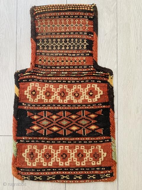 Afshar Namakdan (saltbag)1880 circa very good condition size 52x30cm.