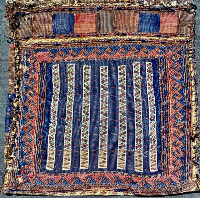 Baluch bag 1880 circa,no repairs and all good colors,size 42x42