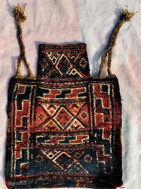 Old Kurdish saltbag,size 48x38cm