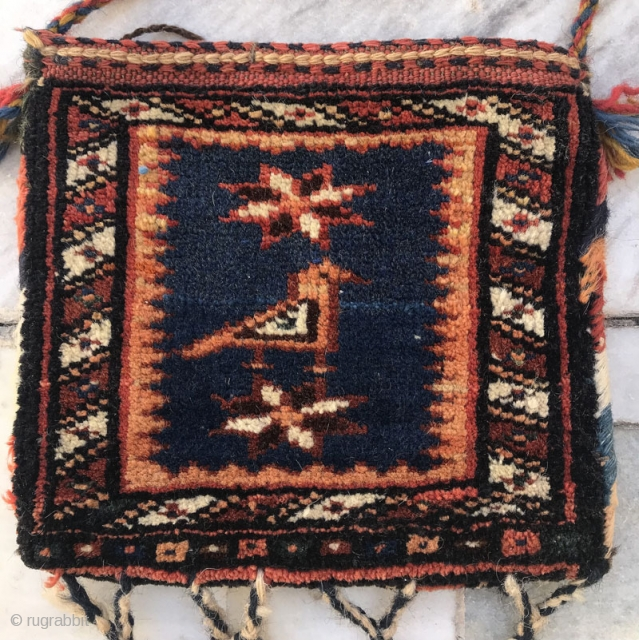 Small chanteh from arab tribes of Nasrabad,Size:20x23 cm