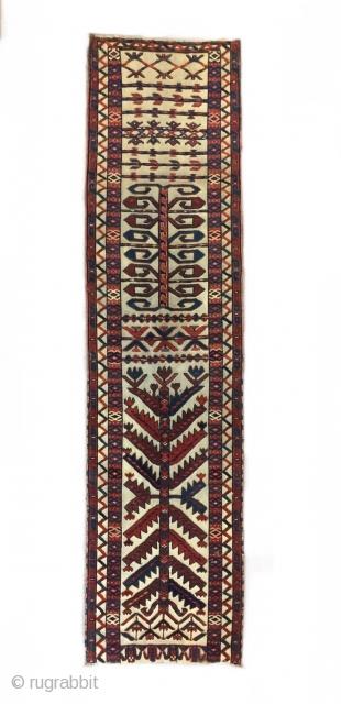 Turkmen Yomud Tent Band fragment 174 x 44
