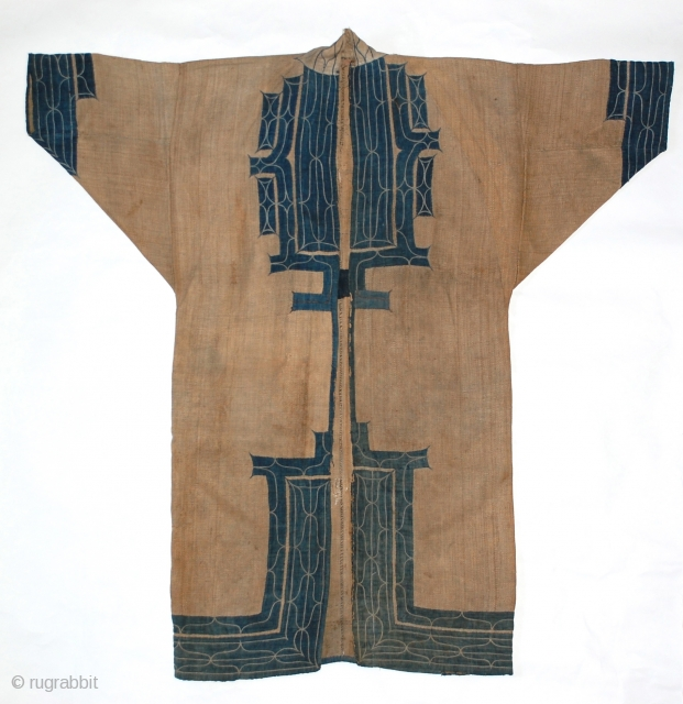 Late 19th century Ainu ceremonial robe