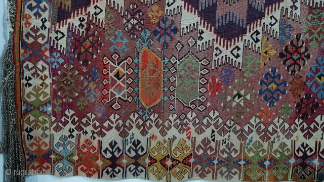 Size : 175 x 310 (cm), Middle anatolian kilim , Please ask for detailed picture