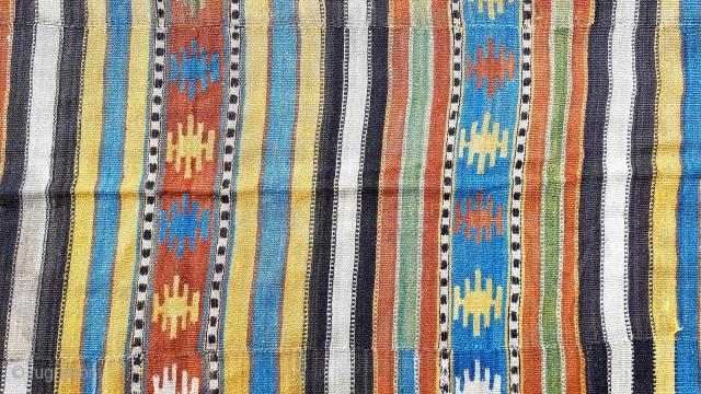 Size : 193 x 283 (cm), West anatolia kilim