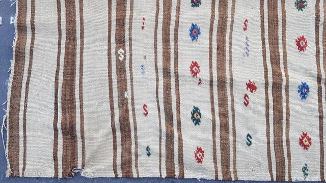 Size : 135 x 208 (cm), Middle anatolia (cappadocia) kilim .