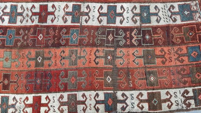 Size : 113 x 190 (cm), East anatolia , Erzurum (kizilkilise ).