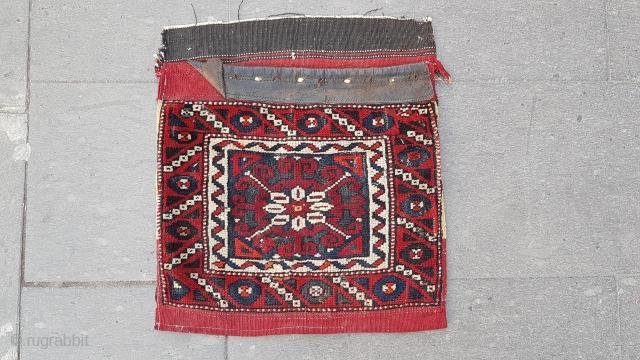 Size : 40 x 45 (cm), West anatolia (yuncu), Ca 1800 Bag eye